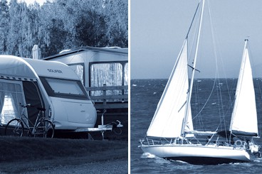 Husvagnen / båten